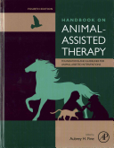 Fine Handbook of Animal-Assisted Therapy book cover